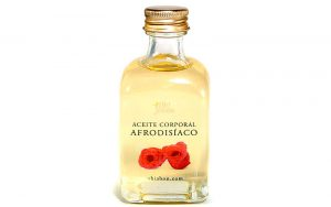 Aceite de masaje afrodisiaco
