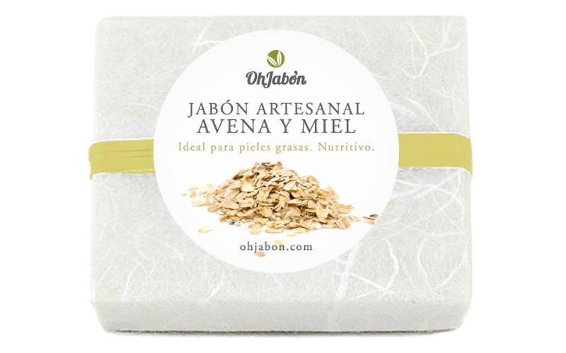 Jabon natural de Avena y Miel