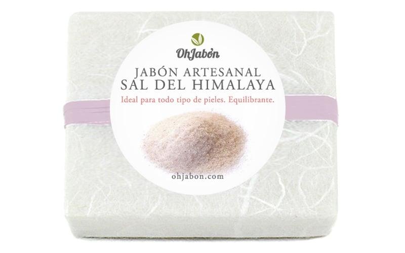 Jabón natural de Sal del Himalaya