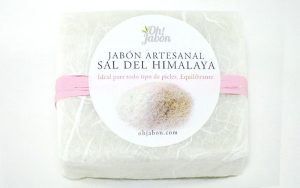 Jabón de sal del Himalaya