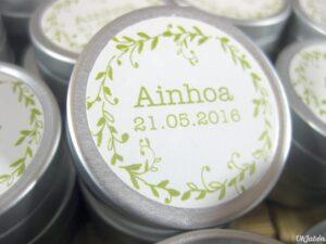 Bálsamo labial detalle comunión Ainhoa