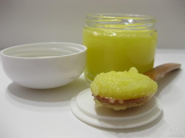 Sugar scrub de miel y limón