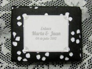 Detalle de boda original Marta y Juan