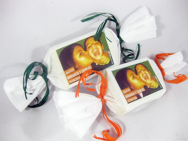 Jabones artesanales detalle de bautizo