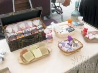 Jabones artesanales en evento Hilton Si quiero