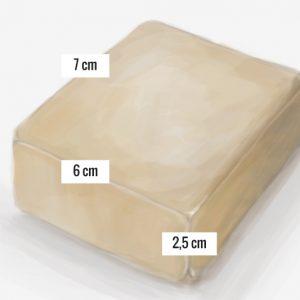 Medidas de los jabones artesanales OhJabon