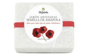 Jabón natural de Semilla de Amapola