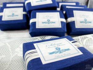 Jabón artesanal detalle de comunión Alonso