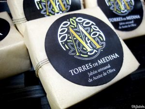 Jabones de aceite de oliva para Torres de Medina