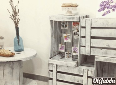 Decoracion de taller de jabones artesanales ohjabon