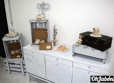Decoracion de taller de jabones artesanales y cosmetica natural detalle